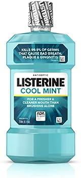 Listerine 8.5 Fl Oz Cool Mint Antiseptic Mouthwash