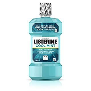 Listerine Cool Mint Antiseptic Mouthwash for Bad Breath, Plaque and Gingivitis, 250 ml (B000052YCW) | Amazon price tracker / tracking, Amazon price history charts, Amazon price watches, Amazon price drop alerts