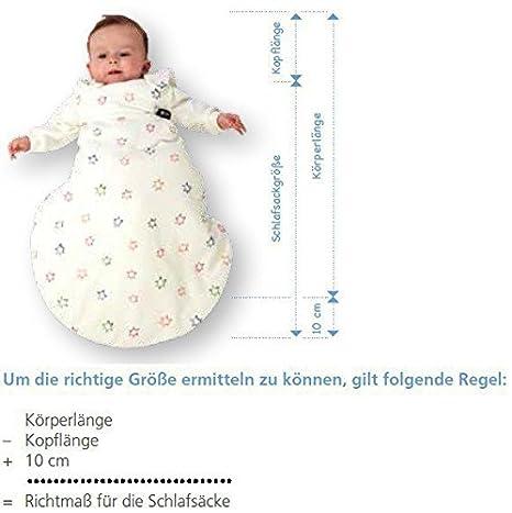 Alvi Baby-M/äxchen Au/ßensack Streifenfant silber Gr/ö/ße:50//56