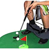 Wgd 17 * 6 * 45 cm Mini WC ocio Toy Golf, interior Potty WC tiempo entrenamiento Golf Toy Mat Set regalo, Golf Trainingshilfen