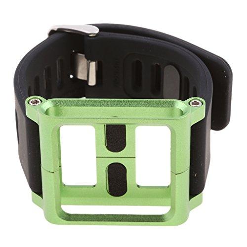 Funda de Muñeca con Banda de Reloj Pulsera de Aluminio para iPod Nano 6 6ta Generación - Verde