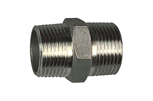 Format 4047322068925 – Doppelnippel G 1 Edelstahl 1.4408