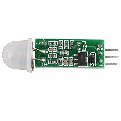 HC-SR505 Mini Infrared Sensor de Movimiento PIR precisa módulo...