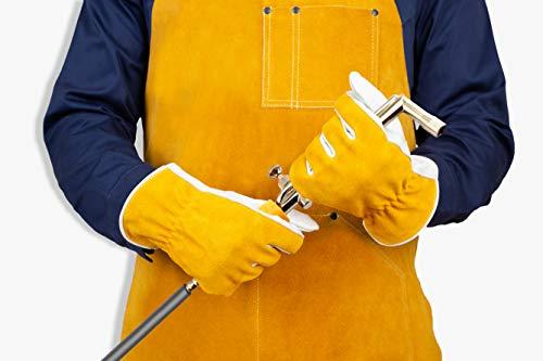 Heavy Duty Leather Welding Apron 3