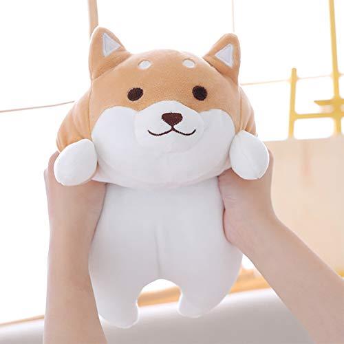 Bestice Cojín Animal Shiba Inu Peluche Anime Corgi Kawaii Felpa Suave Almohada Muñeca Perro, Juguete de Felpa Mejor Regalo para Chica