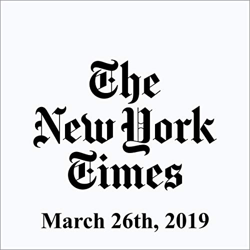 March 26, 2019 copertina