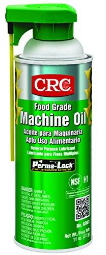 CRC 03081 General Purpose Food Grade Machine Oil Spray, (Net Weight: 11 oz.) 16oz Aerosol,Clear