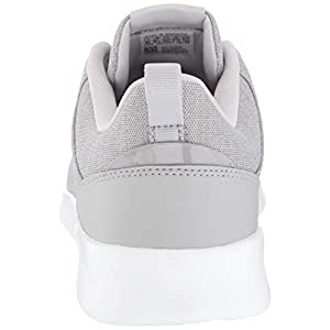 adidas Women's QT Racer 2.0 Running Shoe, Grey/White/Light Granite, 8