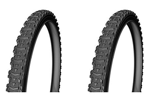 Onogal 2X Cubierta Rueda Neumatico Para Bicicleta Urbana y Mtb Mixta 26\' X 1,75 3281_2