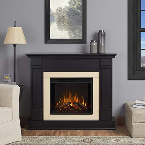 Real Flame G8600E Silverton Electric Fireplace,...