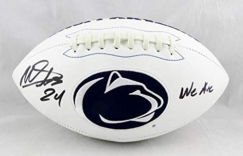 Gerald Hodges Penn State Nittany Lions NCAA Hand Signed Authentic Style Navy Jersey