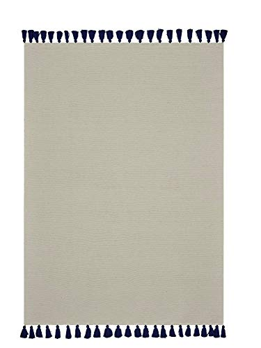 Tapis de Salon ATMOSPORE, 120 x 170 cm, décor Bleu Marine, Muster:Motiv 1