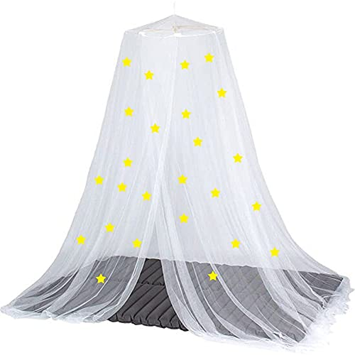 DAGUAI Mosquito net Luminous Star Bed Canopy Romantic Anti Mosquito Baby Canopy Mosquito Net Super Secret Luminous Star Mosquito Net (Color : 1)