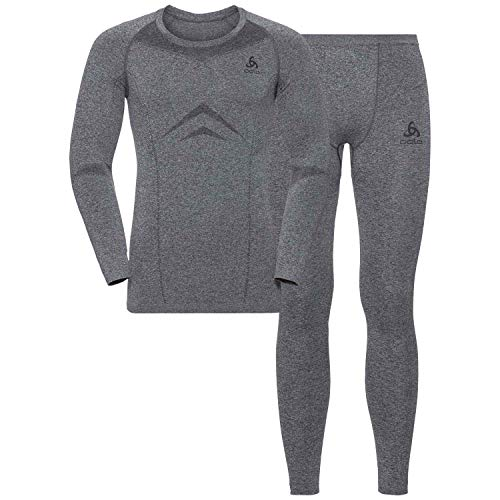 Odlo Performance Evolution St Thermo Set pour Homme M Gris
