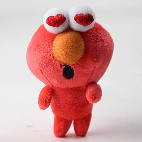 agzhu Sesame Street Peluches Elmo Cookie Guy Suave Relleno...