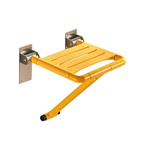 ZZYE Duschhocker Badezimmer-Klapphocker Duschbad Bank-Tür-Korridor-Badezimmer Edelstahl-Rohrlagergewicht 300kg Duschstuhl