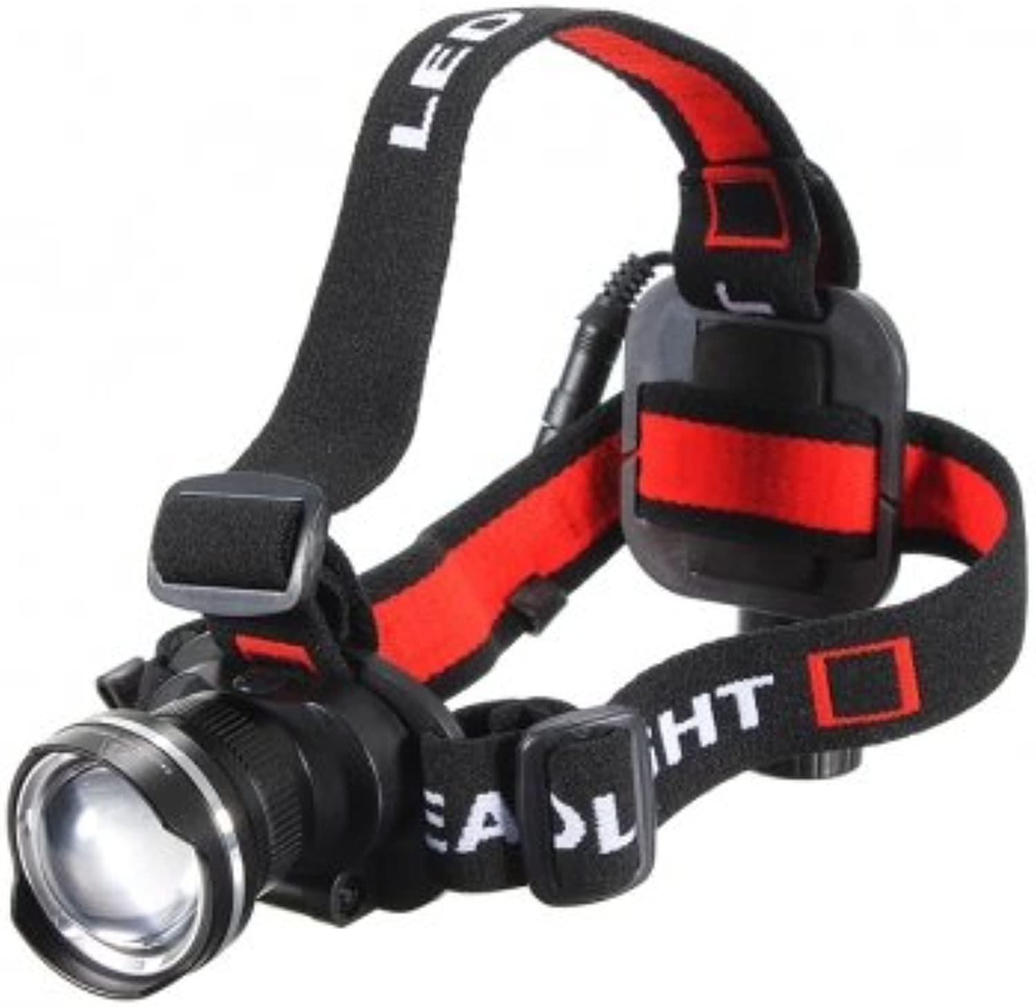 Bheema Bike Bicycle CREE T6 LED 1600Lm Rechargeable Zoomable Headlight  Black