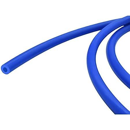 3DINNOVATIONS PTFE (Poly Tetra Fluoro Ethylene) Tube for 3D Printer; OD : 4 mm, ID : 1.9 mm, Length : 1 Meter (Blue)