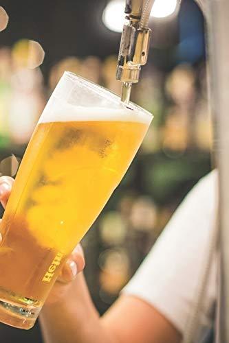 Bier Tasting Buch: Dein persönliches Verkostungsbuch zum selber ausfüllen ♦ für über 100 verschiedene Bier Sorten, Craft Beer, Pils, Pale Ale oder IPA ... 6x9 Format ♦ Motiv: Bier zapfen