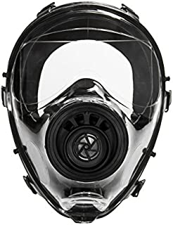 Mestel Safety - Full-face Gas Mask, Anti-Gas Respirator Mask - Resistant to Chemical Agents and Aggressive Toxic Substances - Suitable for Pesticide and Chemical Protection - SGE 150 S/M