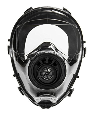 Mestel Safety - Full-face Gas Mask, Anti-Gas Respirator Mask - Resistant to Chemical Agents and...
