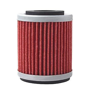 AHL 142 Oil Filter for Yamaha YZ426F YZ426 F 426 2000-2002 YZ250F YZ250 F 250 2001-2002 WR400 F 400 1999-2002 WR426F WR426 F 426 2001-2002  red