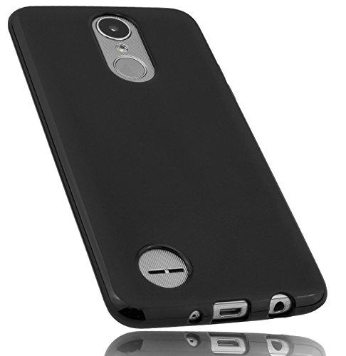 mumbi Hülle kompatibel mit LG K8 2017 Handy Hülle Handyhülle, schwarz