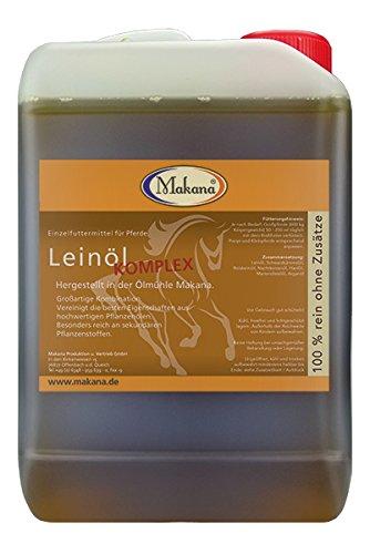 Makana Leinöl Komplex für Tiere, 1er Pack (1 x 3 l)