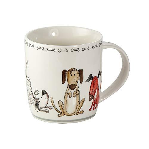 Tasse Hund Kaffeetasse Teetasse Kaffeebecher mit Hundemotiv Geschenk für Hundebesitzer Hundeliebhaber Frauen Männer