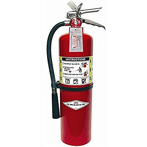 Amerex B456 ABC Dry Chemical Fire Extinguisher with Aluminum Valve, 10 lb. by Amerex Corporation