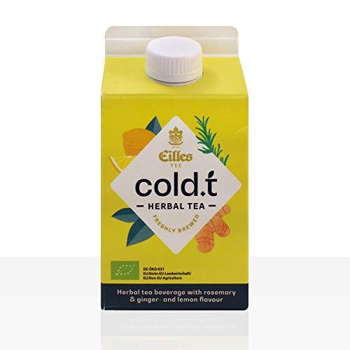 EILLES Cold.t Kräutertee mit Rosmarin & Ingwer- und Zitrone - 8 x 500 ml