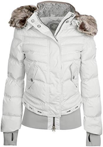 Wellensteyn - Queens QUE-382 Damen Winterjacke, Größe:S, Farben:Snowwhite