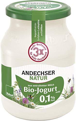 Andechser Natur Bio Bio Jogurt mild 0,1% (6 x 500 gr)