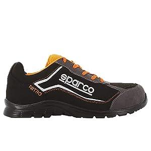 41CISTN6pbL. SS300  - Zapato SPARCO S3 SRC Nitro RSNR Negro/Naranja