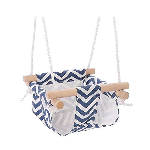 Balancelle de Jardin Swing de Jouets for enfants Enfants intérieur et extérieur en tissu for bébés Poches ménages Swing Swing extérieur Chaise bébé Siège de balançoire Balançoire (Color : A)