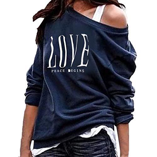 SUCES - Angel-Hemden & T-Shirts für Damen in Marine, Größe L
