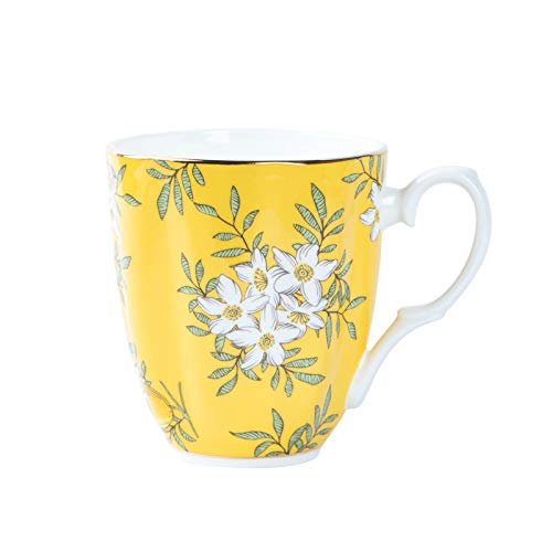 HRDZ Taza de cerámica del café de la Porcelana de Hueso del Sistema del té de la Tarde pequeña Exquisita