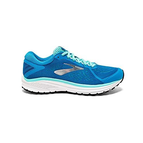 Brooks Aduro 6, Zapatillas de Running Mujer, Azul (Blue/Silver/White 415), 36.5 EU