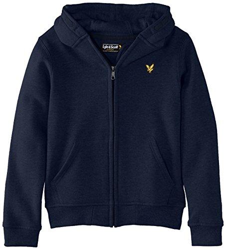 Lyle & Scott Classic - Sweat-shirt à capuche - À capuche - Manches longues - Garçon, Bleu (Navy Blazer), 14-15 ans