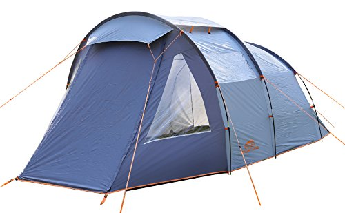 Familietent groepstent 2 3 4 personen koepeltent tent camping met vuilafstotende rand rondom