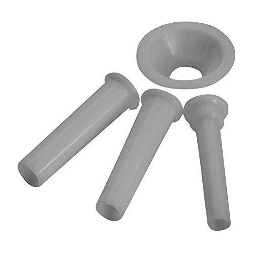 Westmark Juego para embutir Salchichas (3 tamaños), Blanco, 5