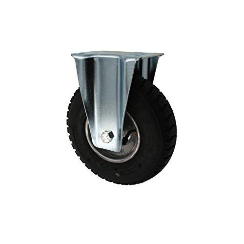 230 mm Luftberefte Transportrolle als Bockrolle Transportgeräterolle