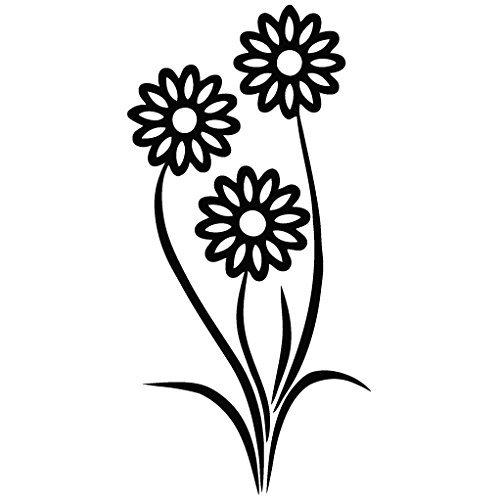 Leon Online Box Sunflower Double - Vinilo Decorativo para Pared, Coche, iPad, MacBook, portátil, Bicicleta, Casco, pequeños electrodomésticos, Instrumentos Musicales, Motocicleta, Maleta