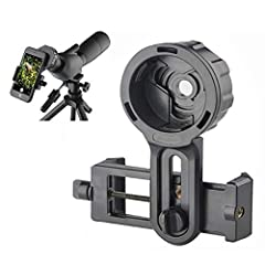 APPLICABLE SIZE:For optics with eyepiece outer diameter(24mm-47mm). Applicable to smartphone which width is between (55-102mm).10mm light hole is easily to align with your cell phone camera and Shields stray light, increase image contrast.Please mak...