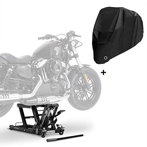 Hebebühne LB + Abdeckplane XXXL für Moto Guzzi Eldorado