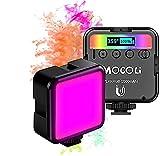 Luz de Video Led RGB Luz Fotografia Color Ajustable Regulable 2500-9500K Mini Luces Fotografia Iluminacion Fotografia Luz Video Luces Led Fotografia para Grabación de Vlogs Cámara e Smartphone