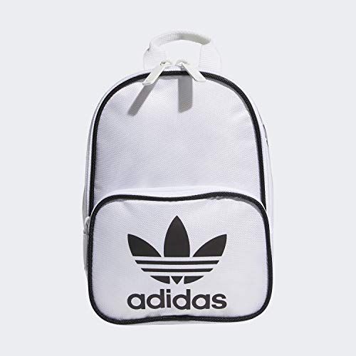 adidas Originals Women's Santiago Mini Backpack, White/Black, ONE SIZE