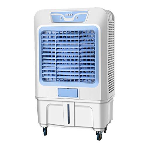 GXFC Enfriador de Aire evaporativo | Ventilador, humidificador, Aire Acondicionado 3 en 1 | Ajuste de 3 velocidades | Enfría Habitaciones hasta 100-150m² | Advertencia Inteligente de escasez de Agua