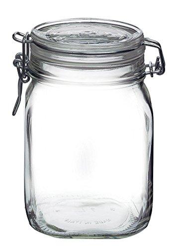 Clip Top Canning Jar