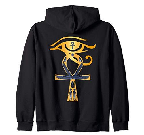 Antiguo Egipto Dios Ojo de Horus Ankh Símbolo egipcio Sudad